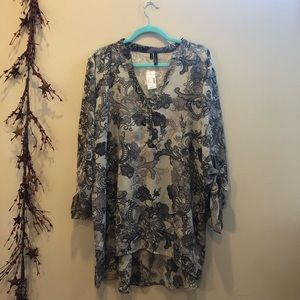 Women's Maurices Plus Size Tunic/Blouse NWT